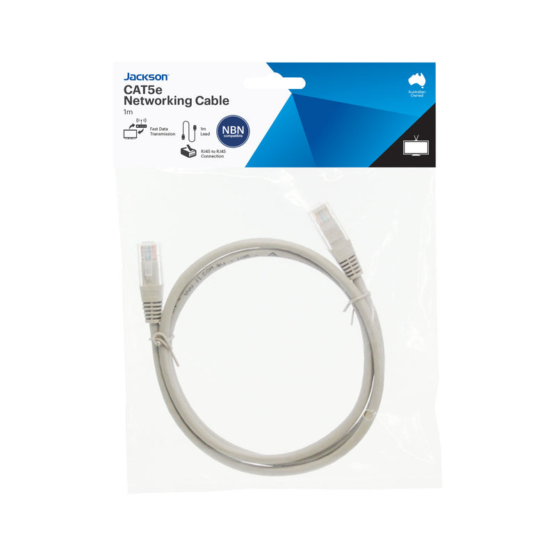 High Speed CAT5e Network Cable- 1m