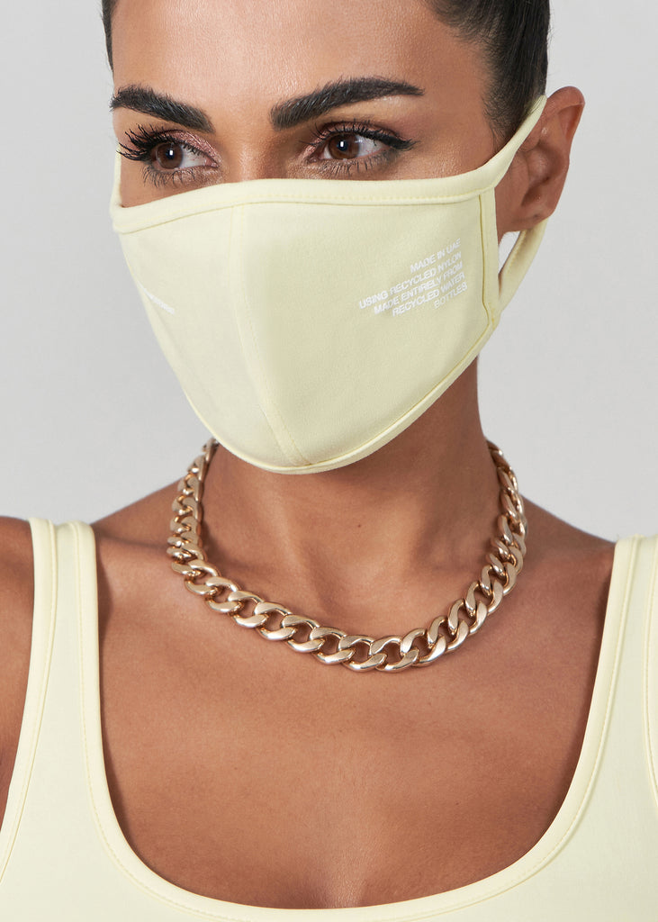 S100V3 Softskin Recycled Re-Active Face Mask Cover
