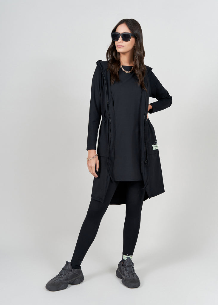 S101 Softskin Recycled Longline Modest Jacket