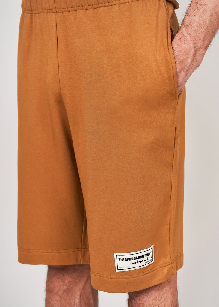 S105V4 Men's Organic Bamboo Lounge Shorts