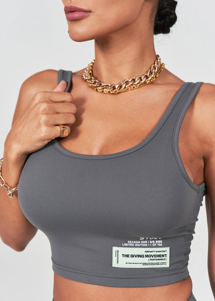 S129 Softskin Recycled Crop Tank Top