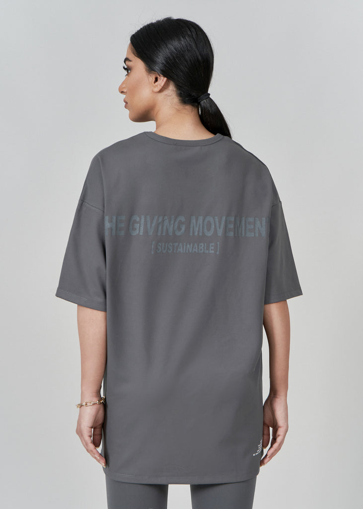 S14V3M Softskin Recycled Nylon Oversized T-Shirt