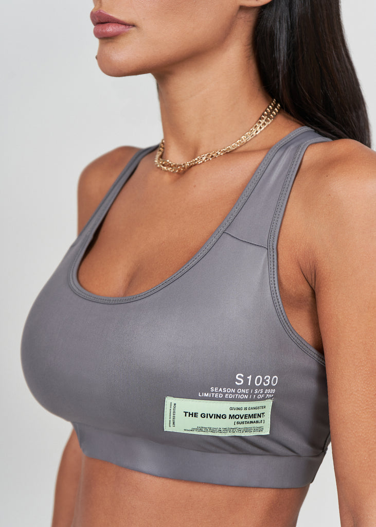 S30SHNV3 Softskin Liquid Shine Recycled Sports Bra