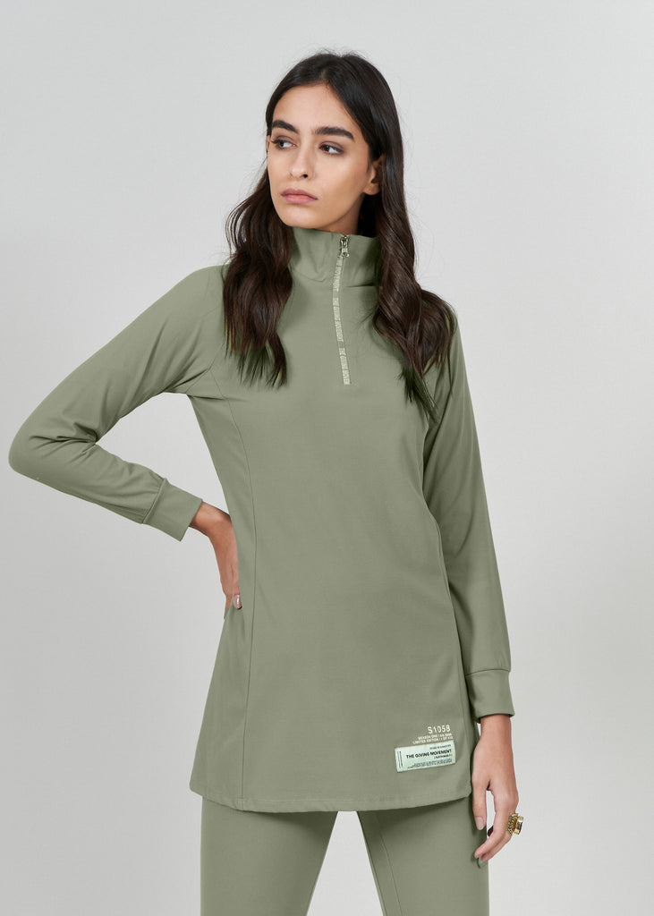 S58 Softskin Recycled Modest Top