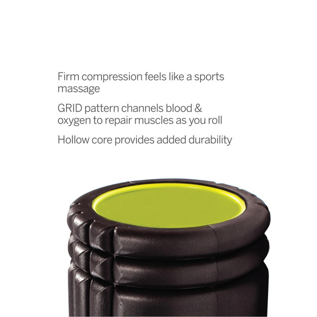 Massage therapy tools, hand rollers, massage tool, The black grid, buy massage roller, black massage roller, recovery for everybody, the grid black specs.