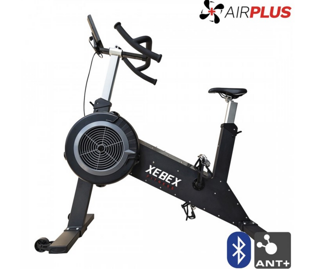 Cardio equipment, cycle UK, xebex air bike, Xebex Airplus bike, xebex air bike monitor, xebex fitness, xebex airplus UK