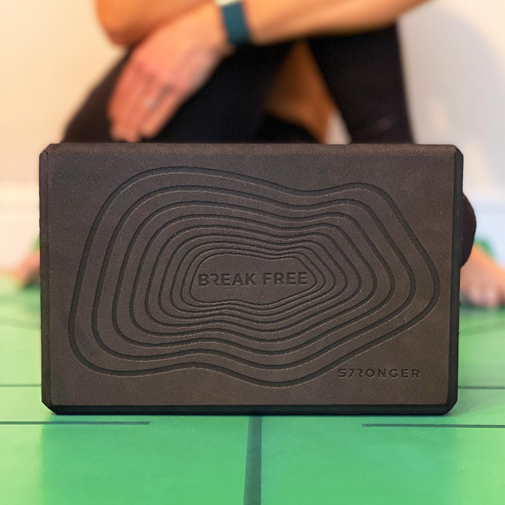 Yoga block, exercise with Yoga Block, yoga essentials, black yoga blocks, buy yoga blocks, Uk yoga blocks, S7R Yoga Blocks, flexibility exercises, yoga flexibility, training at home, home gym, exercising from home.