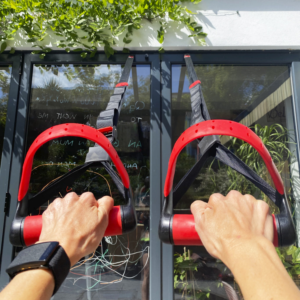 Jungle gym UK, Jungle Gym XT Suspension Trainer, gym equipment for sale. abs gym equipment for sale, lifeline xt suspension trainer, door anchor, trx, anchors, exercise at home, gym at home.