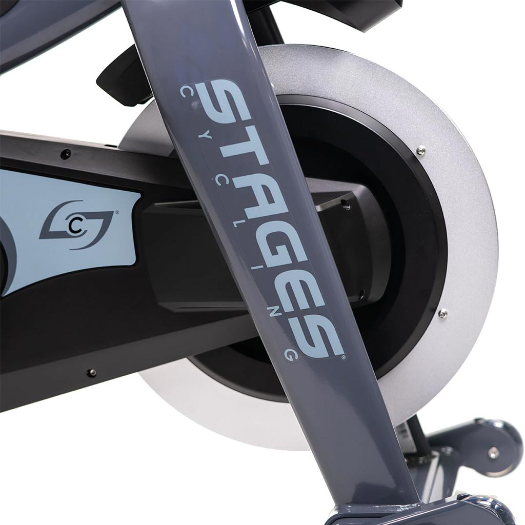Stages Indoor bike, indoor bikes, stages spin bike, stages bike uk, stages cycling bike, best spin bikes, Stages SC1 Spin bike, buy sc1 stages, sc1 spin bike uk, training at home, home gym, gym equipment, cardio, cardio equipment, Stages wheels.
