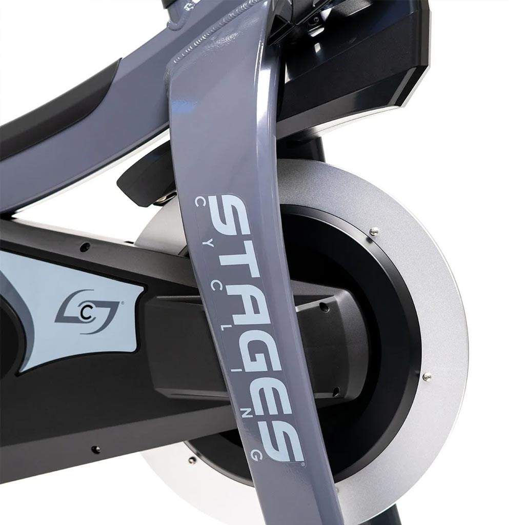 Stages Indoor bike, indoor bikes, stages spin bike, stages bike uk, stages cycling bike, best spin bikes, Stages SC2 Spin bike, buy sc2 stages, sc2 spin bike uk, training at home, home gym, gym equipment, cardio, cardio equipment, Stages wheels.