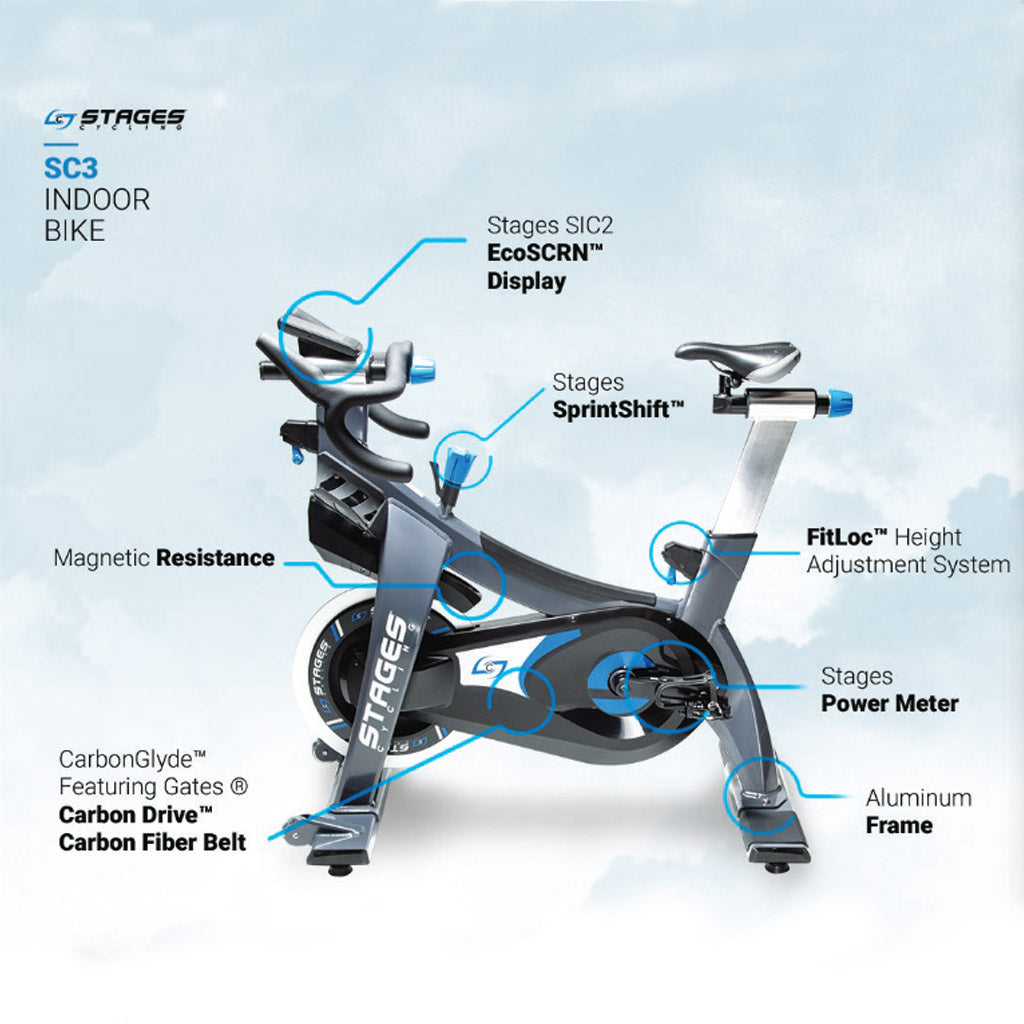 stages spin bike, stages bike uk, stages cycling bike, best spin bikes, Stages SC3 Spin bike, buy sc3 stages, sc3 spin bike uk, training at home, home gym, gym equipment, cardio, cardio equipment, stages sc3 spin bike, stages sc3 parts.