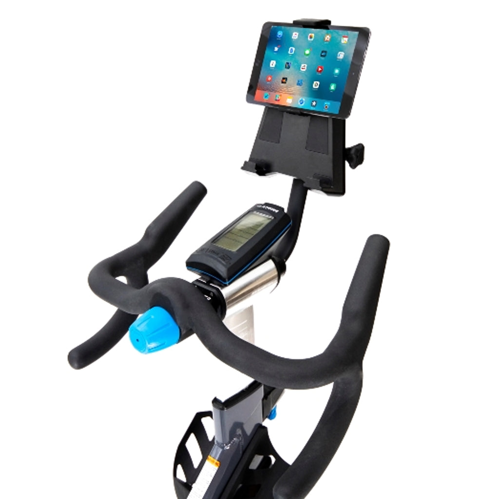 The Stages Tablet Holder is designed to hold screens as small as the iPhone 5 (landscape) and as large as the iPad Pro (landscape), Stages accesories, tablet holder UK, buy tablet holder for bike, tablet holder for bike, tablet holder for stages, tablet holder specs.