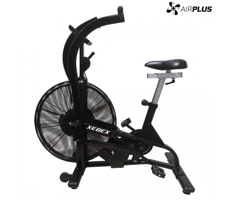 xebex airplus expert bike, xebex airbike, cardio gym equipment, cardio equipment, xebex airplus.