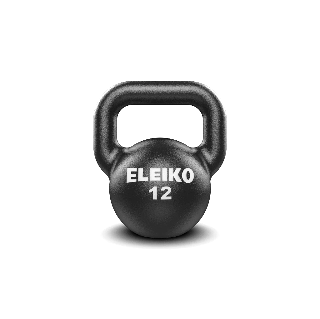 Eleiko Kettlebells, cast iron kettlebell. Eleiko Kettlebell for indoors, weights, eleiko kettlebell buy, eleiko kettlebell sale, gym equipment, workout with kettlebell, eleiko 12kg