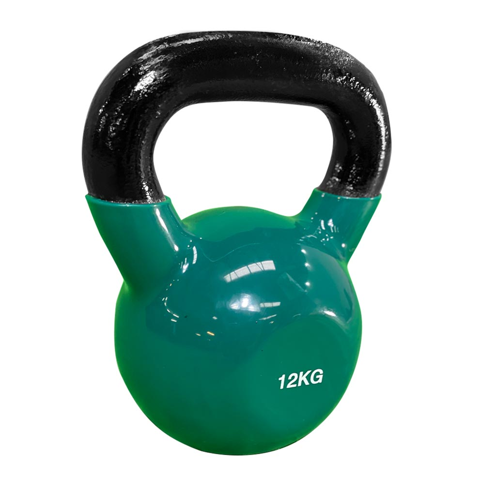 coated kettlebell 12kg, kettlebell vinyl coated Kettlebell, dumbbells and kettlebells, weights, kettlebells in stock, kettlebell uk