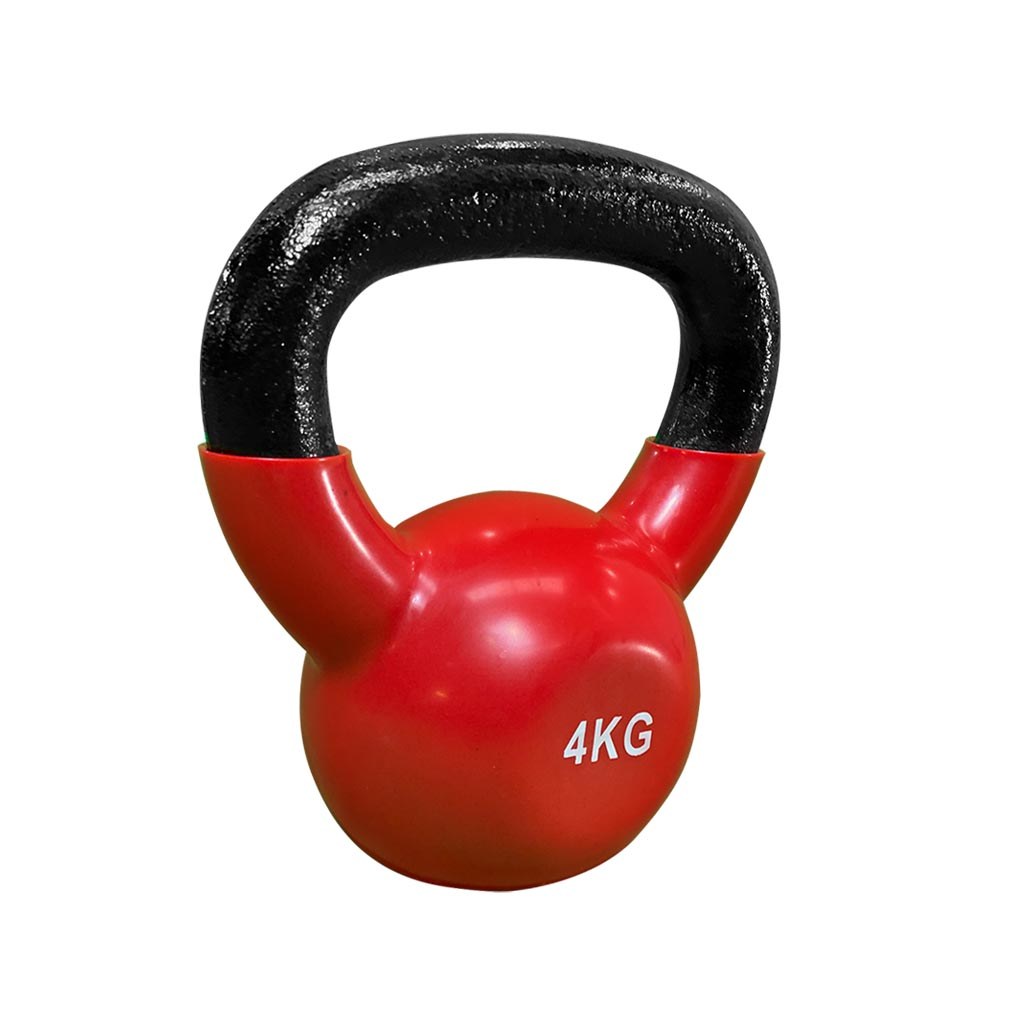 coated kettlebell 4kg, kettlebell vinyl coated Kettlebell, dumbbells and kettlebells, weights, kettlebells in stock, kettlebell uk