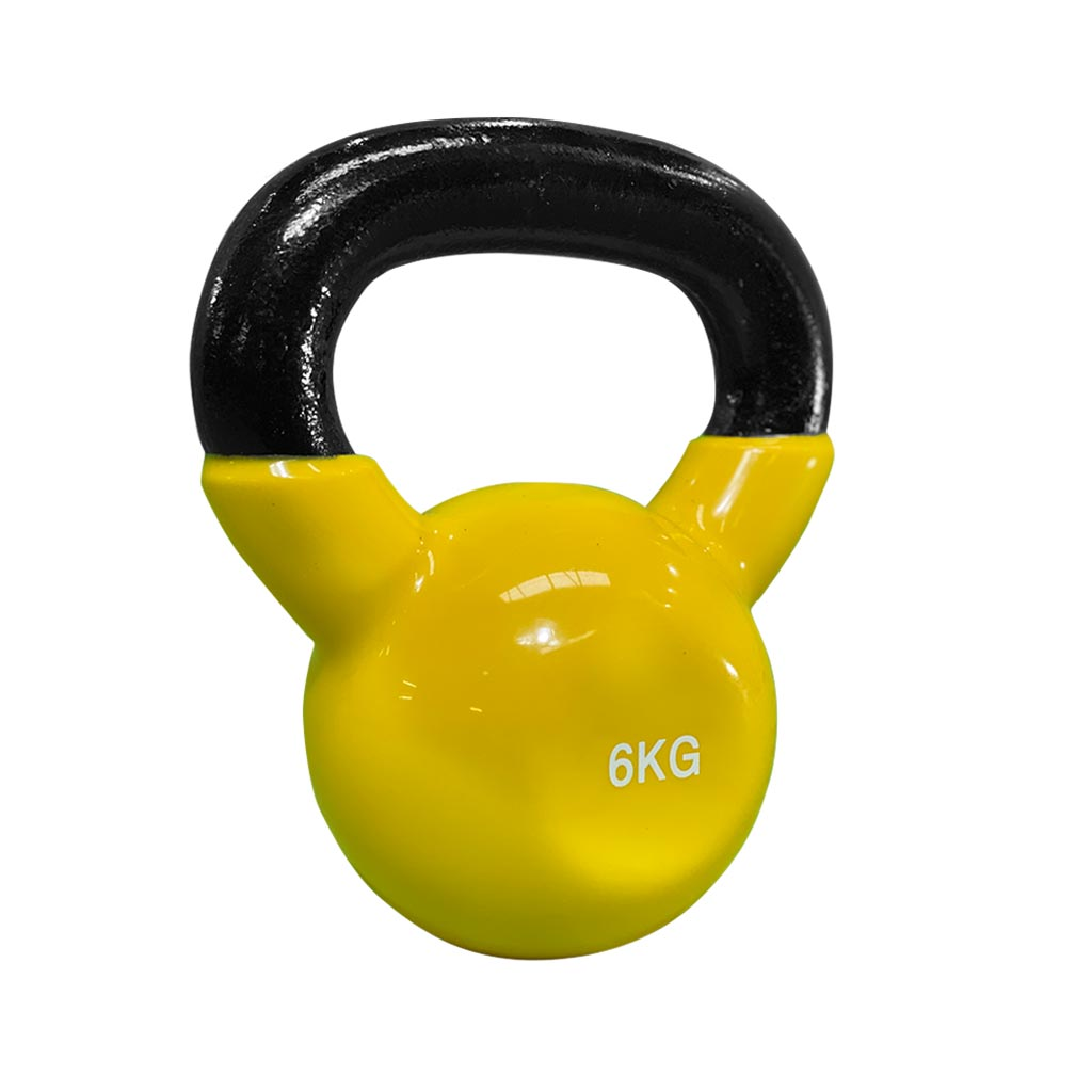 coated kettlebell 6kg, kettlebell vinyl coated Kettlebell, dumbbells and kettlebells, weights, kettlebells in stock, kettlebell uk