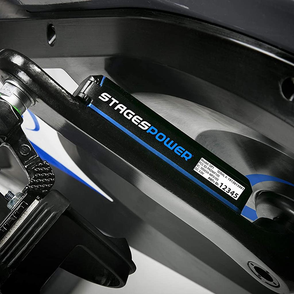 The Stages Power meter is compatible with all Stages SC bikes, buy power meter for bikes, stages accesories, buy power meter UK, power meter Bluetooth. Stages power meter bikes.