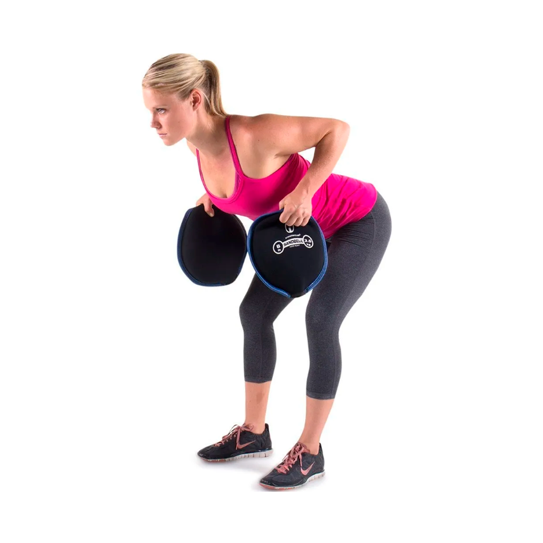 Sandbell, hyperwear sandbell, Hyperwear sandbell filled, sandbell neoprene disc, sandbell exercise, training with sandbell, sandbell workouts, snadbell exercises, gym equipment, home gym.