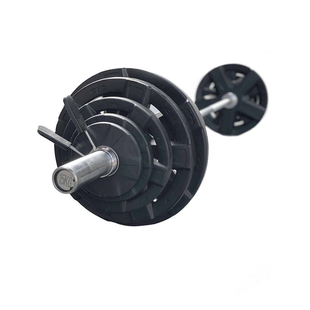 Olympic plate of steel coated in Black rubber. Olympic Plate 20kg, 15kg Olympic Bar., gym equipment,  gym equipment for sale.