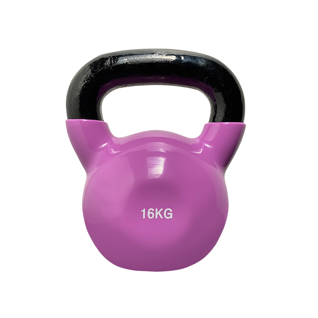 coated kettlebell 16kg, kettlebell vinyl coated Kettlebell, dumbbells and kettlebells, weights, kettlebells in stock, kettlebell uk