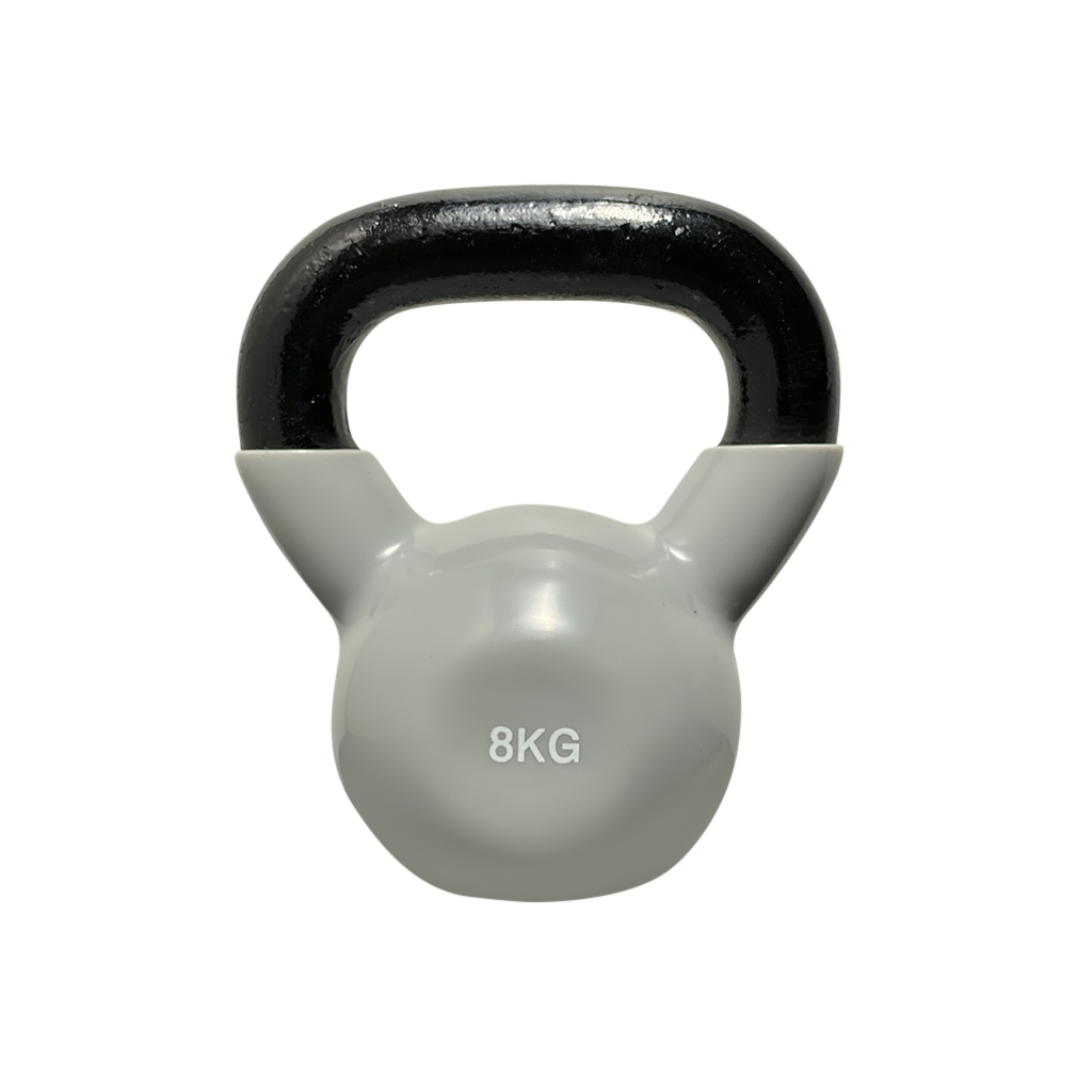 coated kettlebell 8kg, kettlebell vinyl coated Kettlebell, dumbbells and kettlebells, weights, kettlebells in stock, kettlebell uk