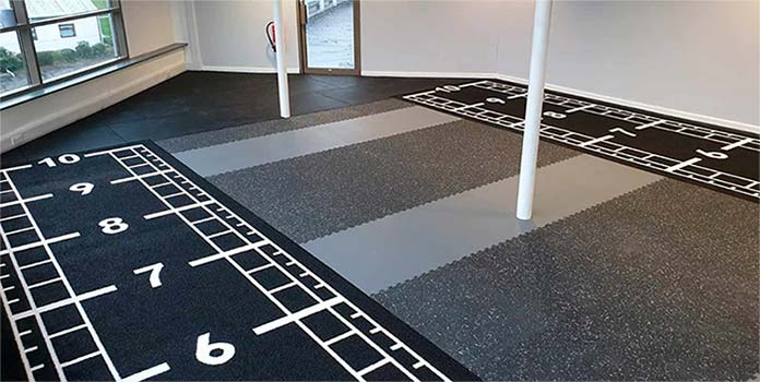 Functional Rubber Gym Flooring