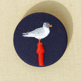 Broche petit format Mouette - Do you speak français ?