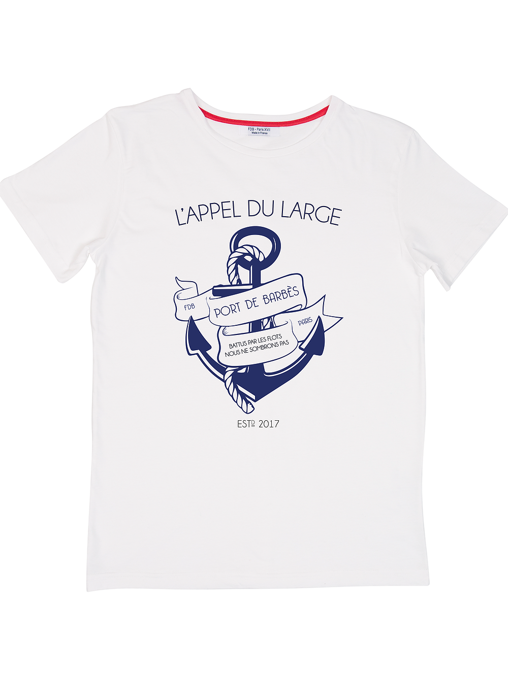 T-shirt L'appel du large - Do you speak français ?