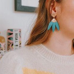 Boucles d'oreilles Carmen Sorbet - Do you speak français ?