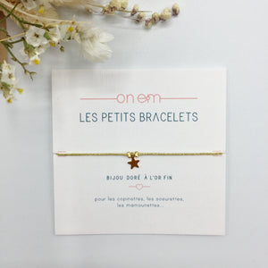 Bracelet lurex au choix - Do you speak français ?