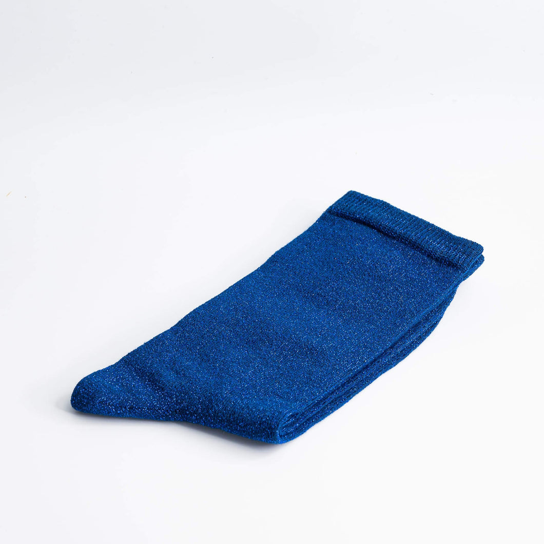 Chaussettes Frida Bleu électrique T36-41 - Do you speak français ?