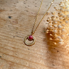 Charger l'image dans la galerie, Collier Katniss rhodonite - Do you speak français ?
