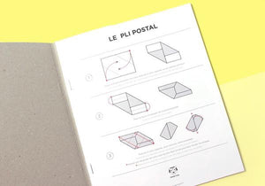 Carnet de lettres-enveloppes - Le pli postal - Do you speak français ?