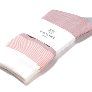 Chaussettes Breton Stripes Poudre T40-45 - Do you speak français ?