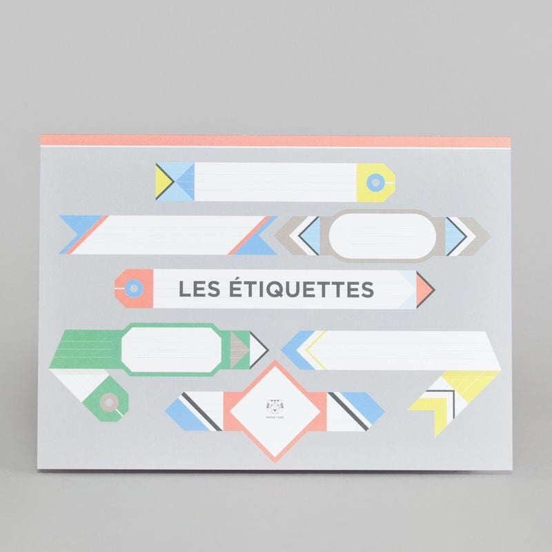 Planches d'étiquettes design - Do you speak français ?