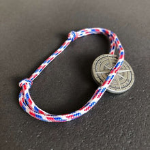 Charger l'image dans la galerie, Bracelet rose des vents bleu blanc rouge - Do you speak français ?
