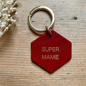 Porte-clés Super mamie - Do you speak français ?