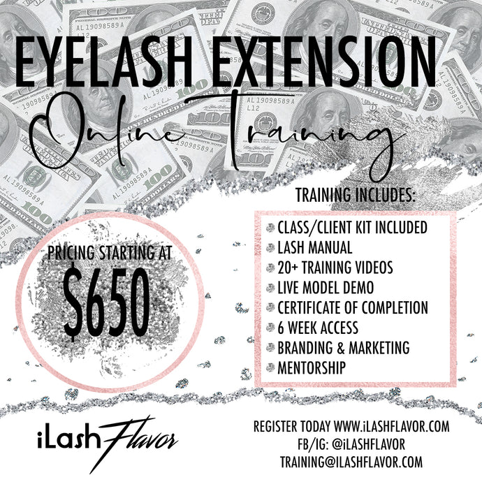 iLash Flavor Classic Lash Training Kit (with free online training)