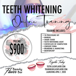 Teeth Whitening Training Kit (w. Free Online Training)