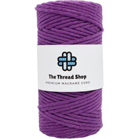 Damson 3mm, 20m Thread Shop Macramé Cord
