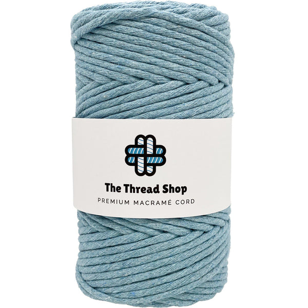 Washed Denim 4mm, 100m Thread Shop Macramé Cord