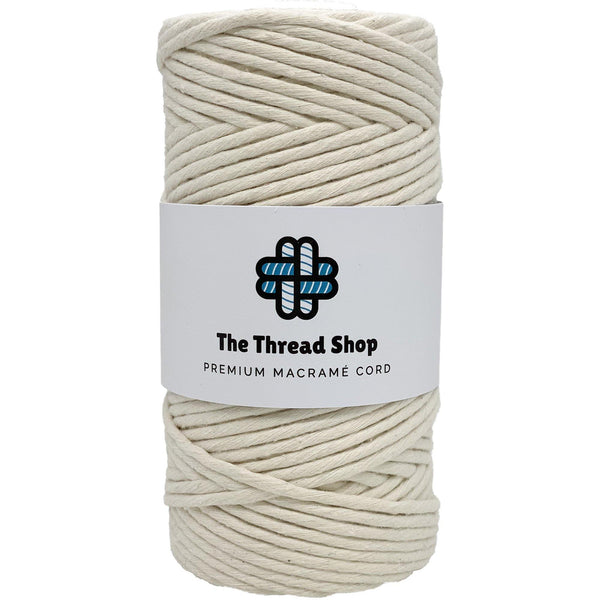 Natural 3mm, 100m Thread Shop Macramé Cord