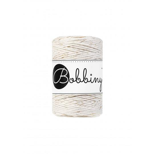 Golden Natural 1.5mm, 20m Bobbiny Macramé Cord - The Thread Shop