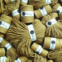Kiwi 3PLY 3mm, 100m Bobbiny Macramé Cord - The Thread Shop