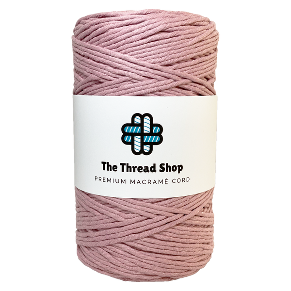 Quartz Pink 4mm, 300m Thread Shop Macramé Cord