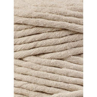 Beige 5mm, 20m Bobbiny Macramé Cord - The Thread Shop