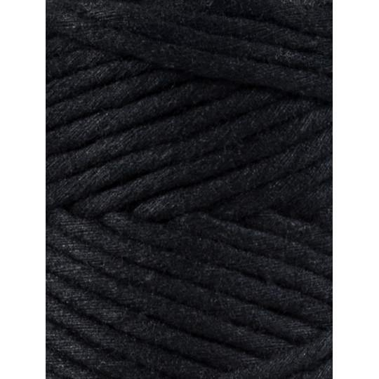 Black 3mm, 20m Bobbiny Macramé Cord - The Thread Shop