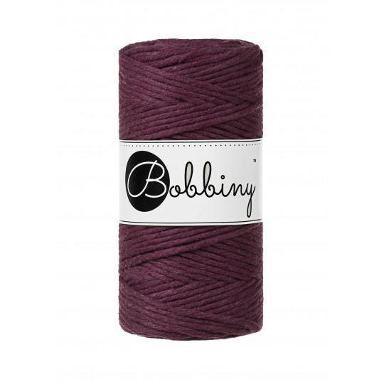 Blackberry 3mm, 100m Bobbiny Macramé Cord - The Thread Shop