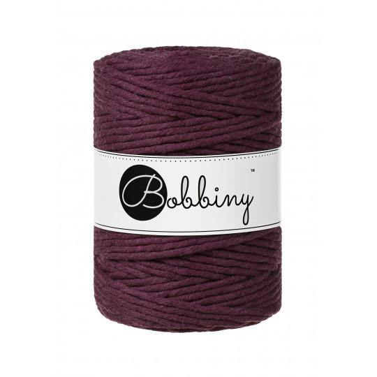 Blackberry 5mm, 100m Bobbiny Macramé Cord - The Thread Shop